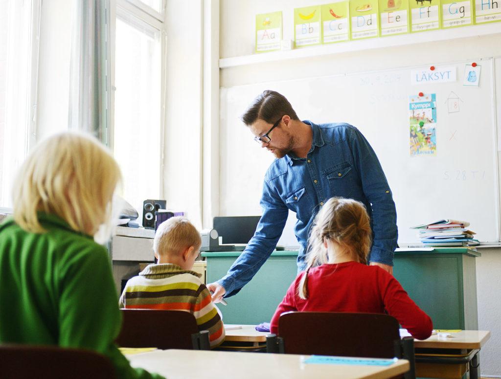 Peruskoulun opetusta