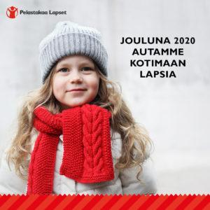 Pelastakaa Lapset ry:n joulukeräys 2020 -keräystunnus