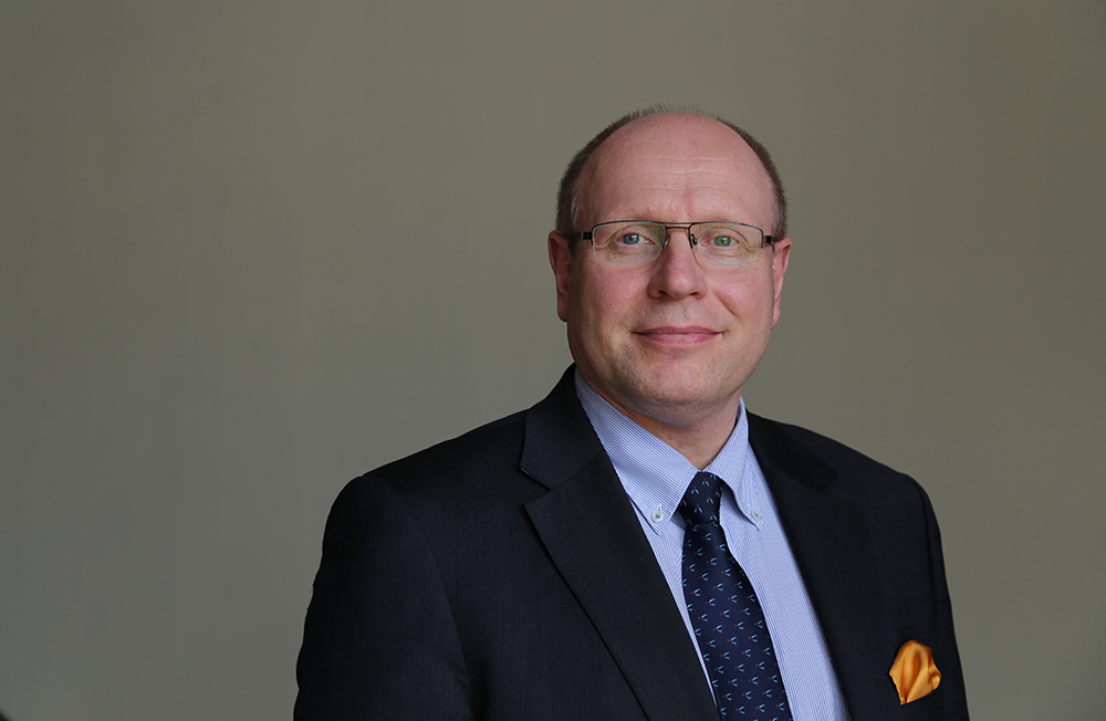 Kuvassa valtiovarainministeriön ylijohtaja Juha Sarkio