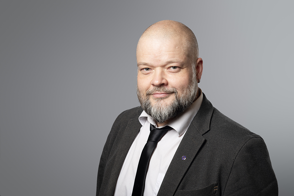 Kuvassa Ylemmät Toimihenkilöt YTN:n neuvottelupäällikkö Petteri Oksa.