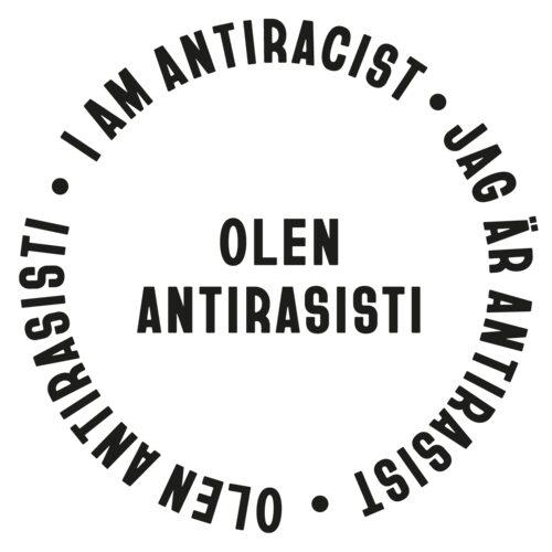 Olen antirasisti -kampanjan tunnuskuva