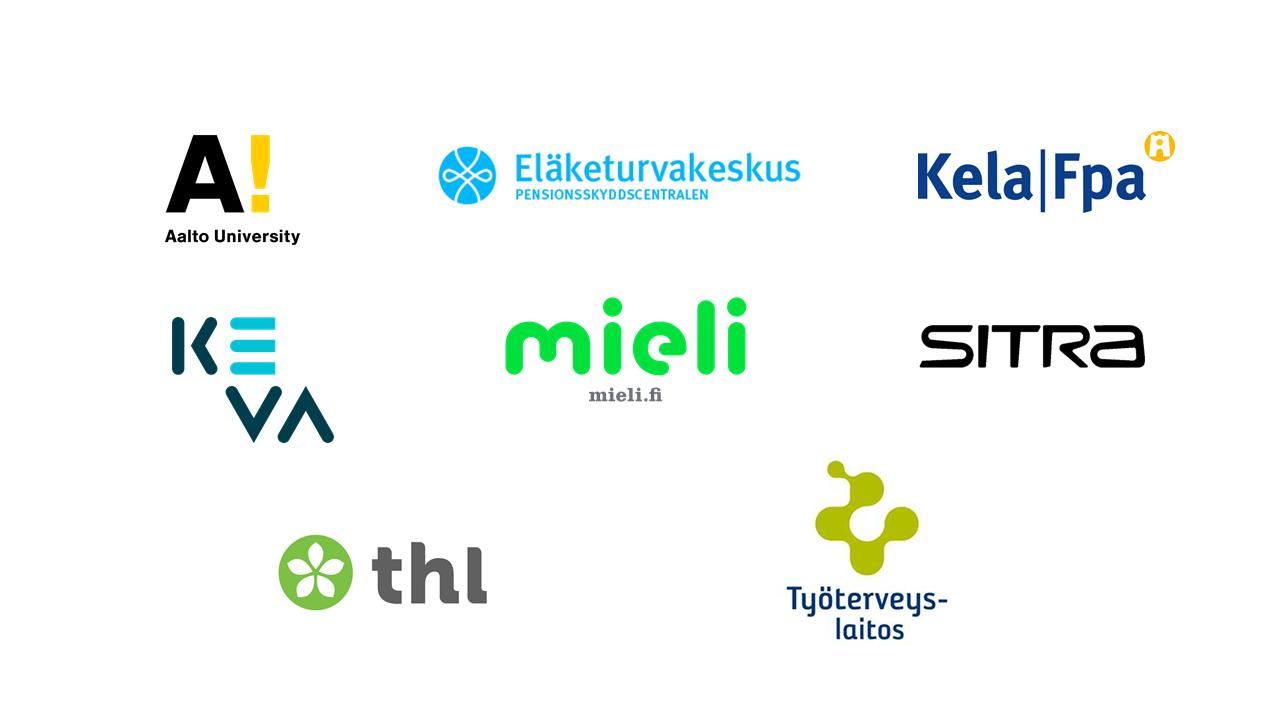 Hyvinvointihankkeen yhteistyökumppaneiden logot